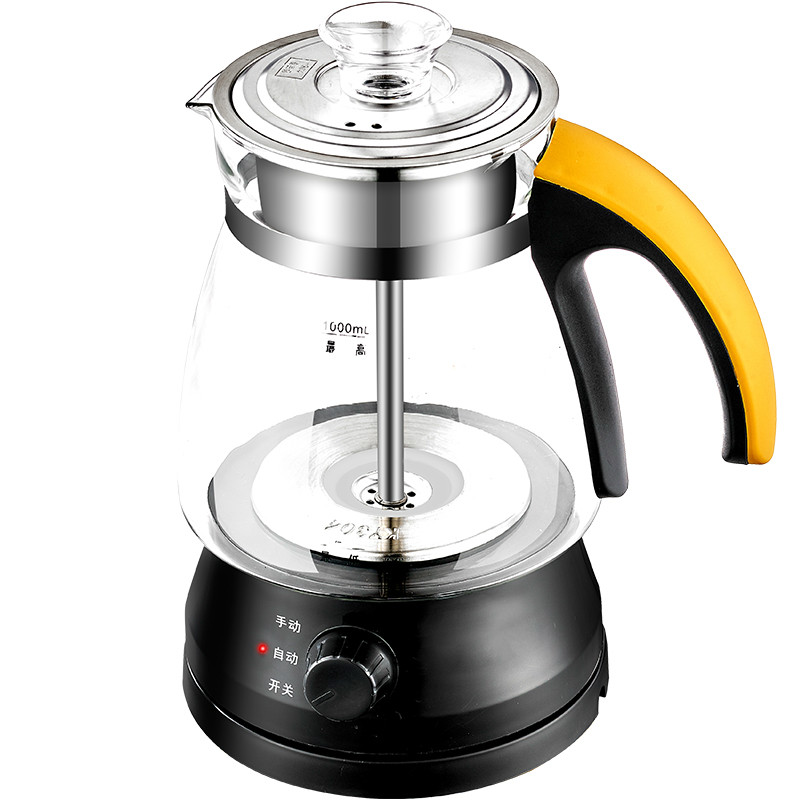 Electric kettle Fully automatic tea - making pu 'er pot kungfu pu er tea yellow печать 100 лет древнее дерево дерева pu erh 2016 сырье 357g