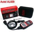 Universal Car Diagnóstico Scanner 100% Original Autel AutoLink AL609 ABS CAN OBDII AL 609 Ferramenta de Verificação