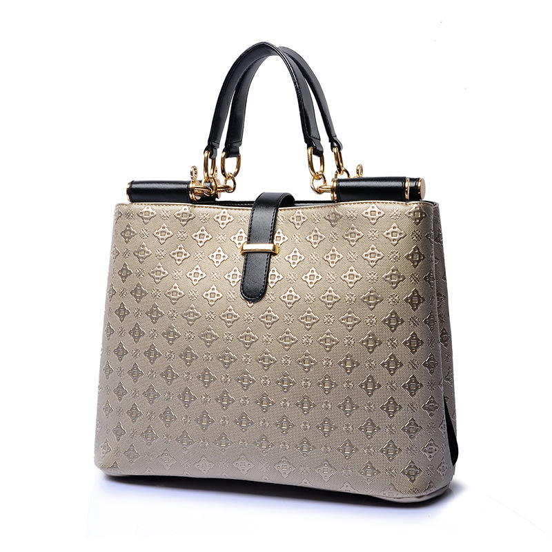2018 New Arrival Women's Handbag Fashion Women Bag Solid Shoulder Bags Tote National Style Women Messenger Bags Black ST-2864