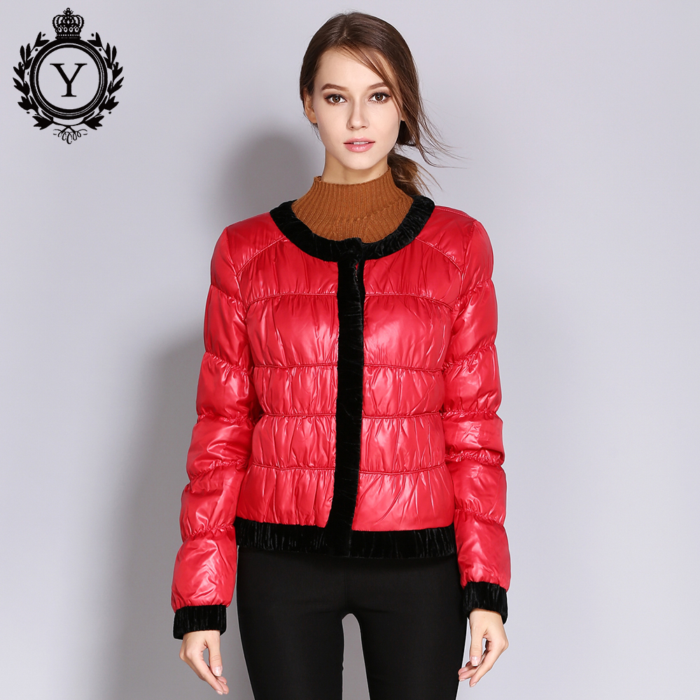 COUTUDI Womens Jacket Spring Thin Down Jackets Female Parka White Duck Down Coats Warm S ...