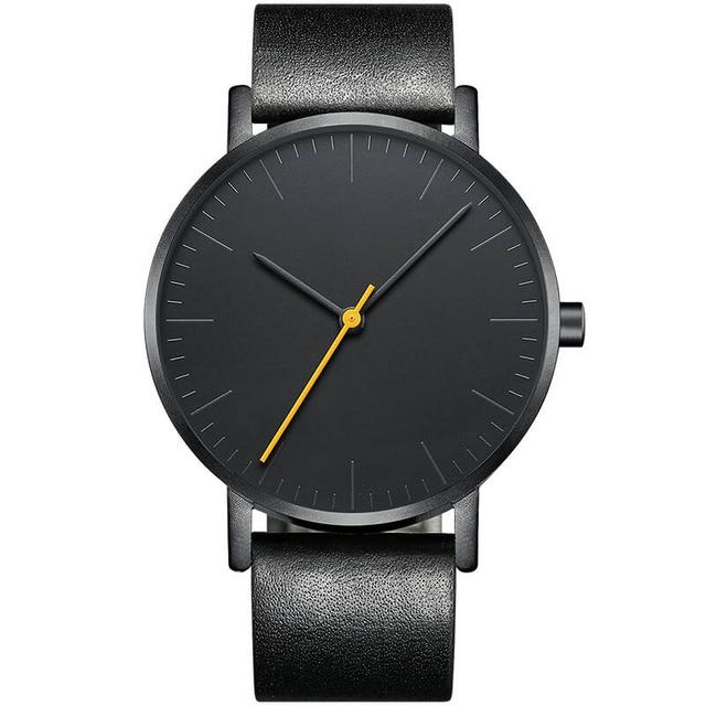 Souvent Sekaro suisse montres hommes marque de luxe simple neutre mode  DP16