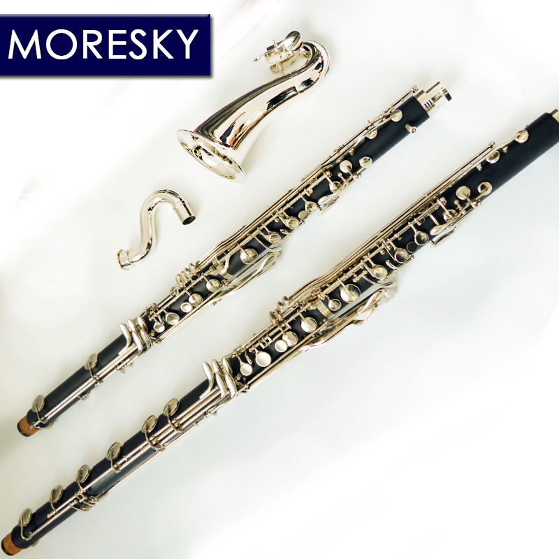 MORESKY clarinette basse clarinette professionnelle Lowc/LOWE air tombant B