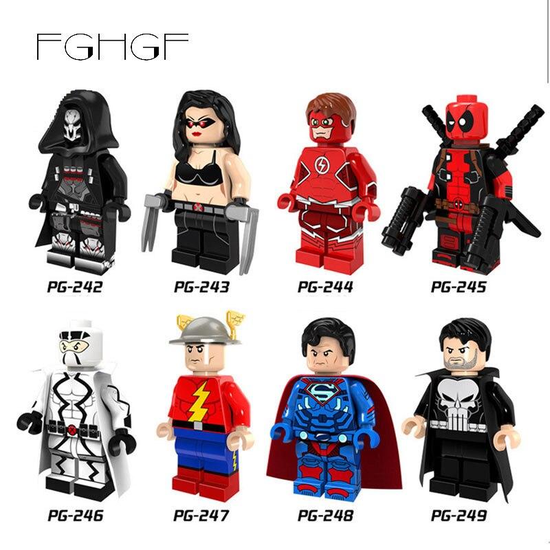Sammeln & Seltenes Hell Fghgf Marvel X-mann Hero Deadpool Super Mann Flash Mann Arzt Legoilys Ninjago Bausteine Mini Ziegel Kinder Spielzeug Puppe Ausreichende Versorgung Gebäude & Konstruktionsspielzeug