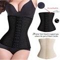 Женщины Горячая Body Shaper Для Похудения Три Грудью Талии Пластика Пояс Талия Cincher Грудью Управления Корсет Талии Тренер S-3XL