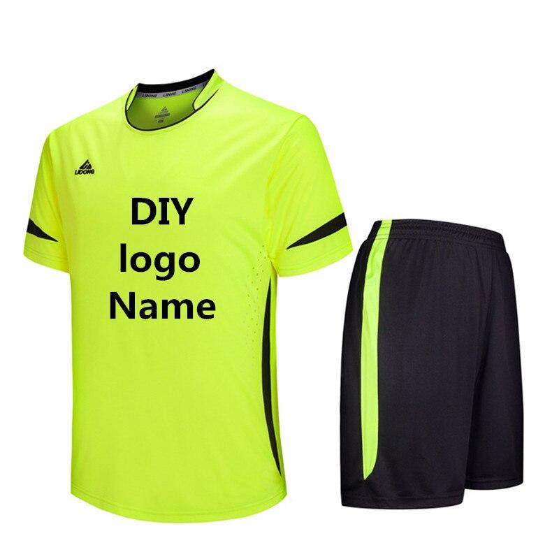 4d79971ae Kids Men Soccer Jerseys Sets DIY Survetement Football Kits Maillot De Foot  Jersey