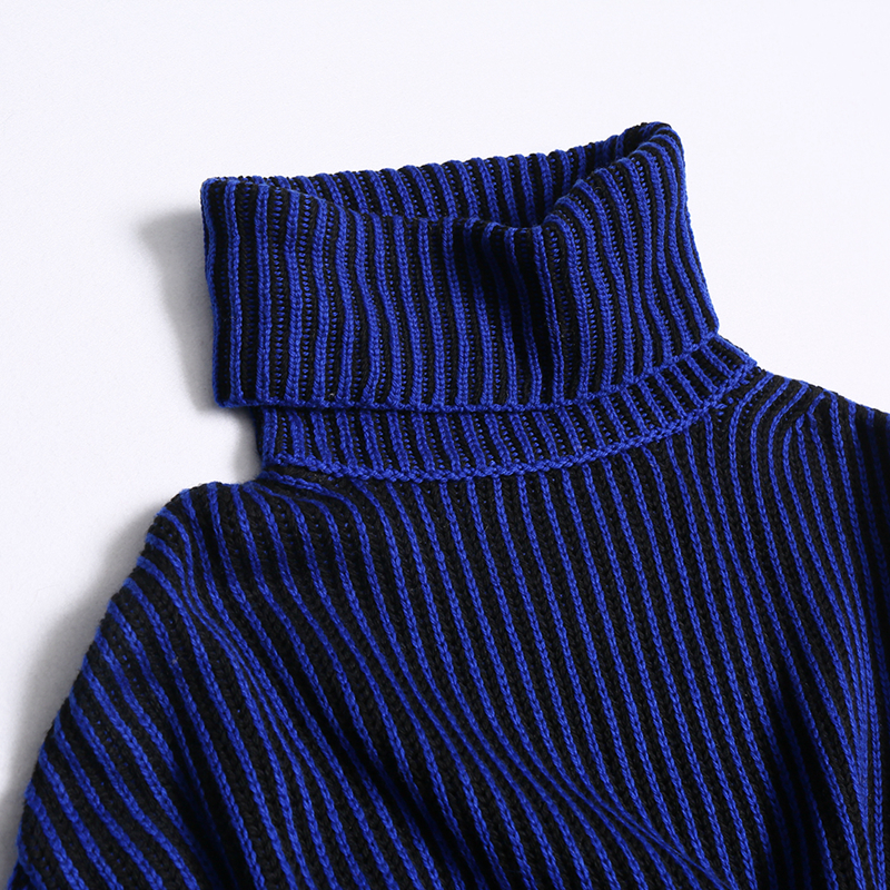 AOEMQ Winter Hot Sell Sweater Keep Warm Use High Turtleneck Protect Neck Winter Warm Sweater Cotton Soft Sweater for Women 7