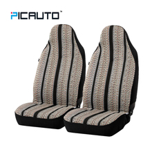 PIC AUTO Baja Blanket Bucket Seat Cover For Car Truck Van SUV 3D Splicing Technology Side Airbag Compatible Front Seat Covers
