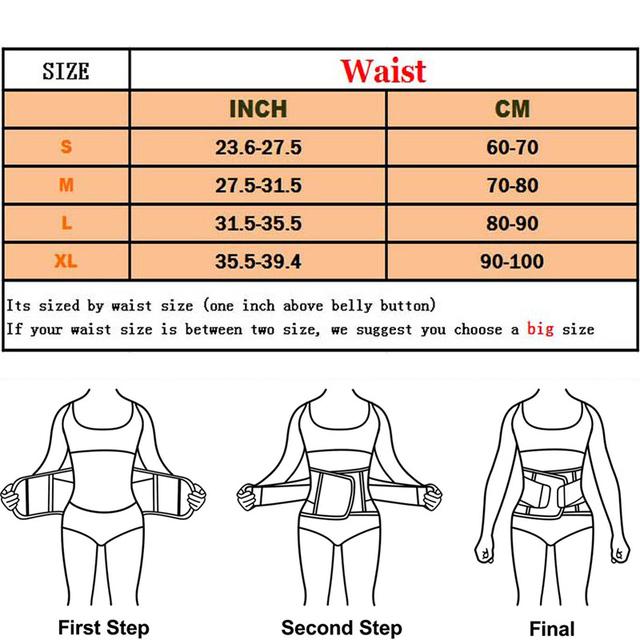 hot shapers women slimming body shaper waist Belt girdles Firm Control Waist trainer corsets plus size Shapwear modeling strap