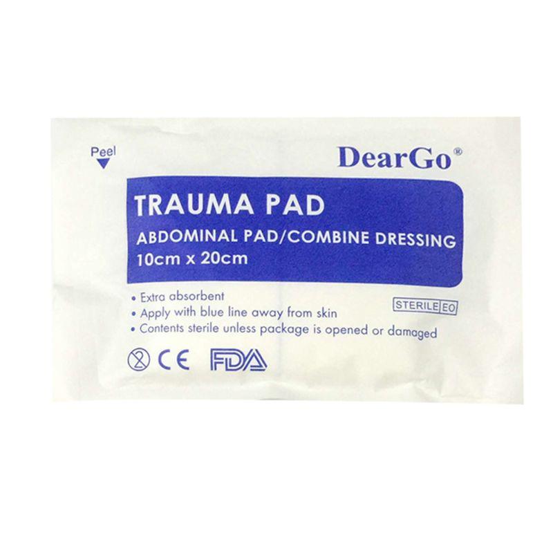 1 Pc Medizinische Pads Blutstill Kissen Blutungen Stoppen Nicht-woven Stoff Saugfähigen First Aid Kit Notfall Bauch Pad Kombinieren