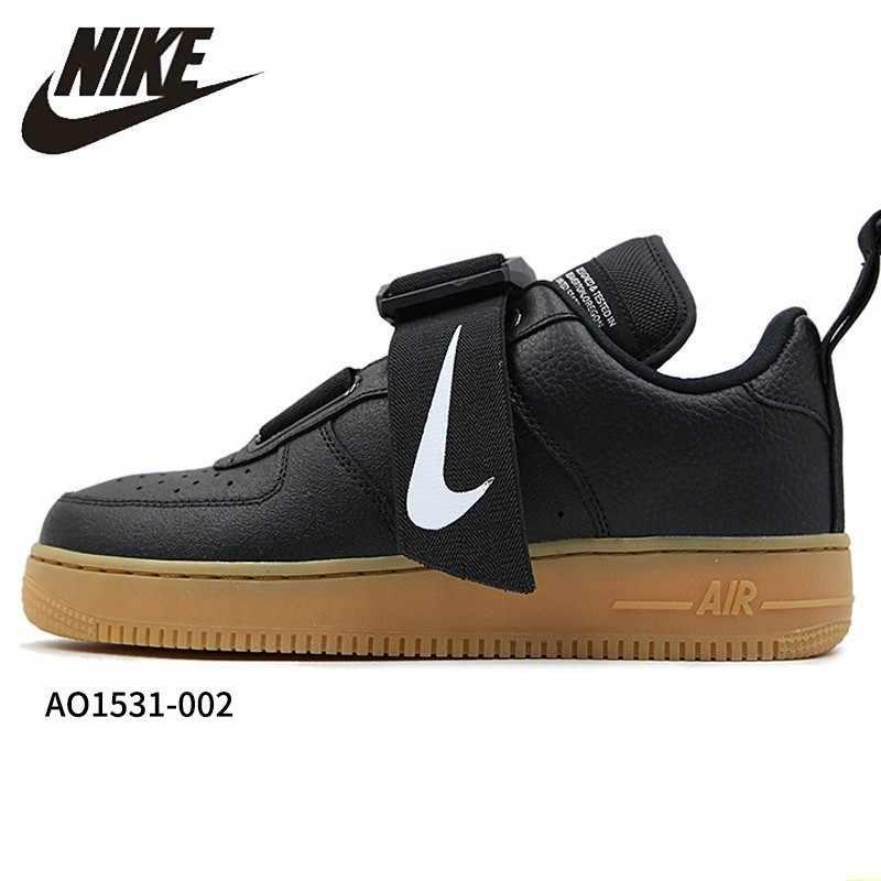 NIKE Air Force1 AF1 Original hommes chaussures de skateboard fonction magnétique déconstruction coussin d'air baskets # AO1531