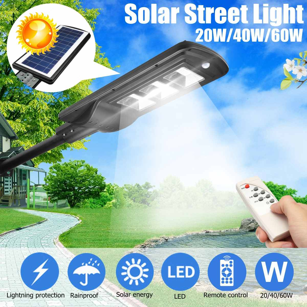 Use, Switch, Garden, LED, Home, Street