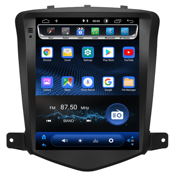 """10.4"""" Tesla Type Android 8.1 Fit CHEVROLET CRUZE 2008 2009 2010 2011 Car DVD Player Navigation GPS Radio"""