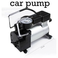 Car Inflatable Pump Air Pumps Compressor for Bicycle Car Motor Equipped Accurate Pressure Gauge 100 PSI