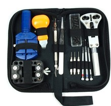 Free Shipping 1pc Watch Repair Tool Kit Case Opener Link Remover Spring Bar Tool w Carrying