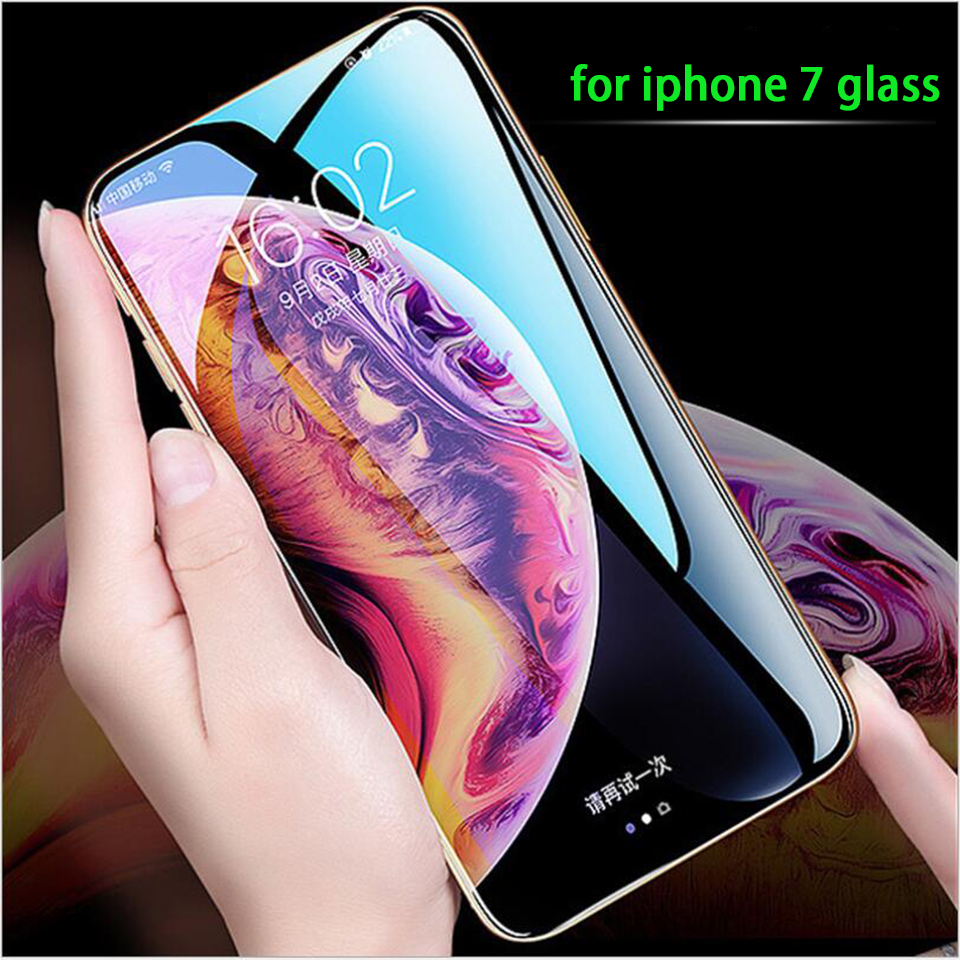 5d cold carved eye protection anti-blue mobile phone for iPhone 6/6plus/7/7plus tempered glass film