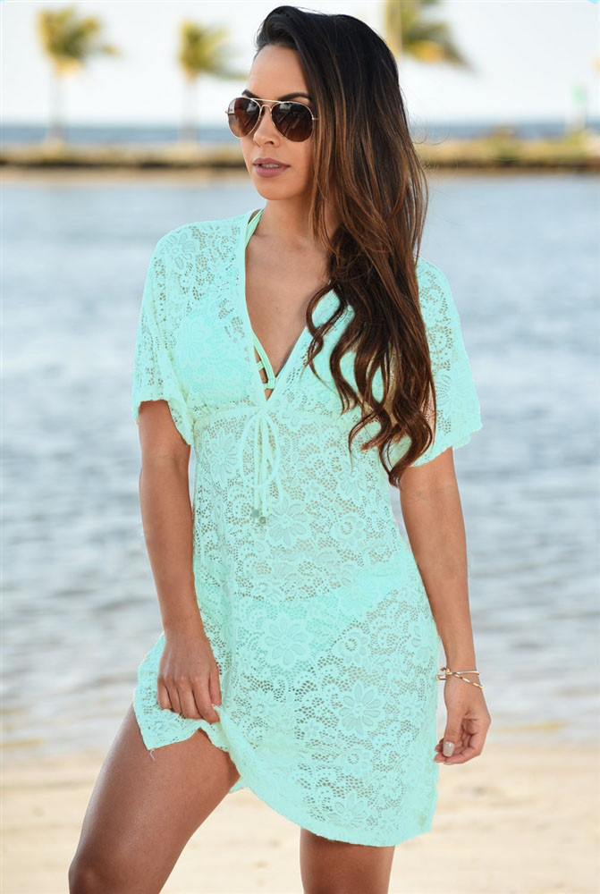 Bluish-Green-See-through-Lace-Cover-Up-Dress-LC42054-9-3