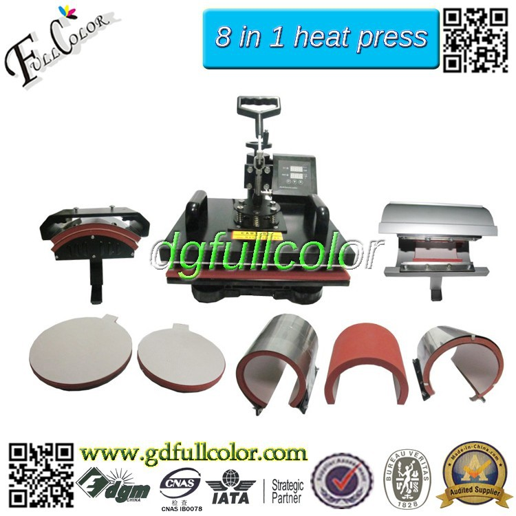 8 in 1 heat press