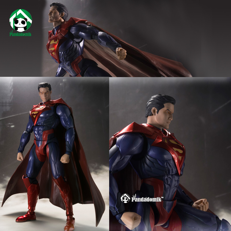 ФОТО New Superman Action Figure Super Heroes Avengers Kids Toys Movable Molding Action Toy Figures Collectible Gift Toy