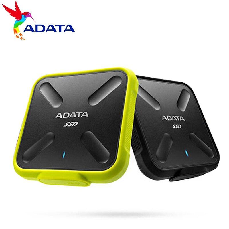 ADATA SD700 250G 512G disque dur HD Mini externe SSD 1T Portable à semi-conducteurs USB 3.1 Disco extno tablette livraison gratuite