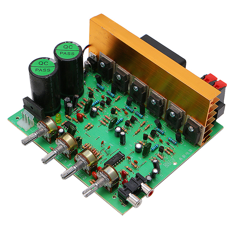 New Dual AC 24V In 2.1 Channel Digital Subwoofer Amplifier Board Bass Stereo Audio aiyima 12v tda7297 audio amplifier board amplificador class ab stereo dual channel amplifier board 15w 15w