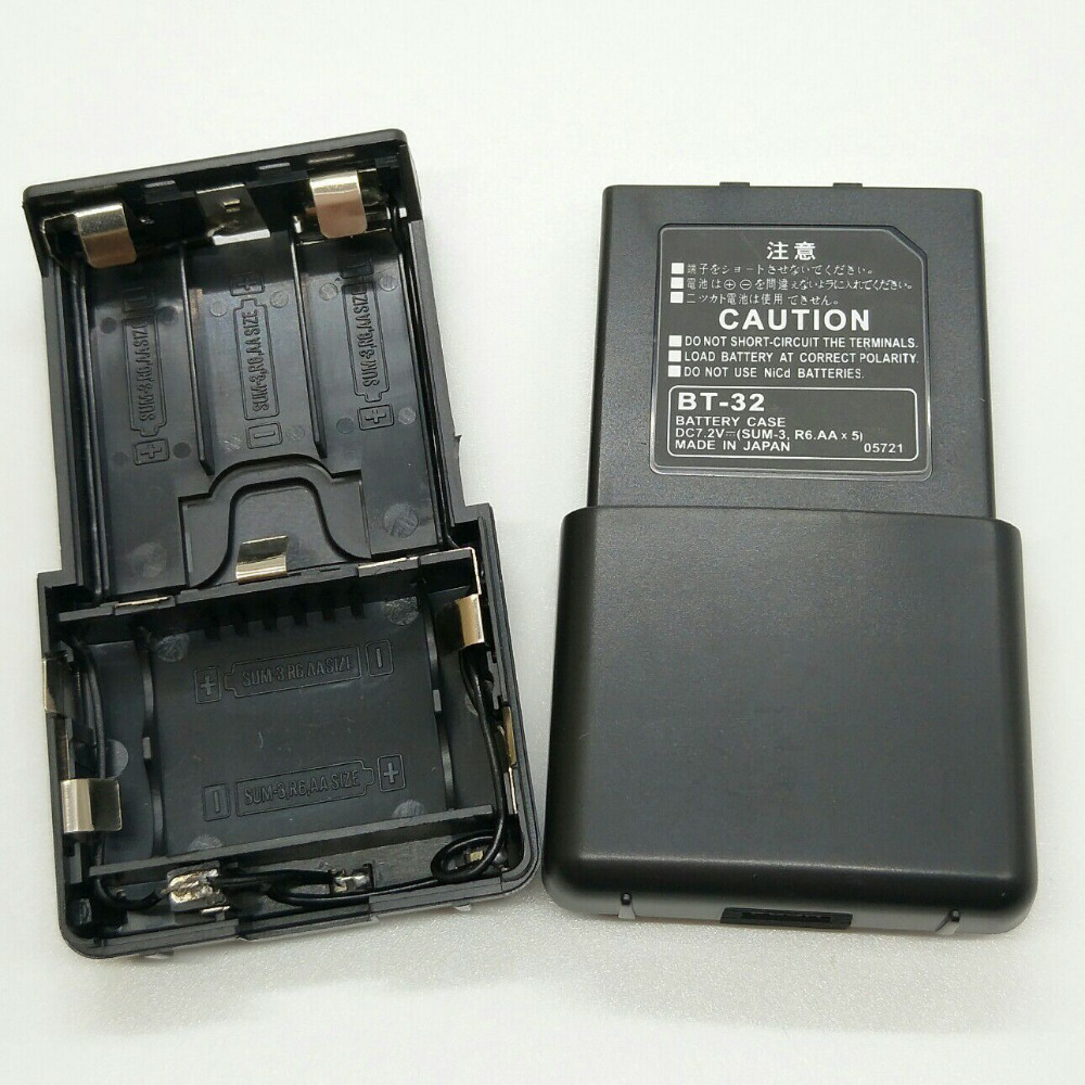 OPPXUN BT-32 5 AA Battery case box for kenwood TK308,TK208,TH 22AT,TH42AT,TK-79A two way radio walkie talkie