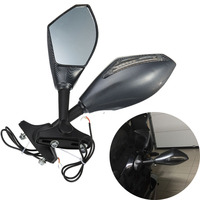 For Honda CBR 600 RR 03 10, CBR 1000RR 04 07, CBR 125R 150R 250R 2011 , CBF1000 2010 2011 LED Turn Signals Rear View Side Mirror