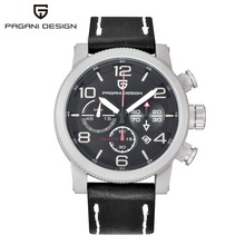 2017 new Sports Design Top Brand Watches Men Luxury Stainless Steel Quartz Watch Men Military Watches reloj hombre Pagani Design