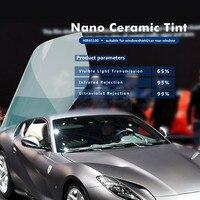 Premium Light Blue Nano Ceramic Film 65% VLT Car/Building Window Film 60 x 65'/ 1.52x20m roll HIR65100