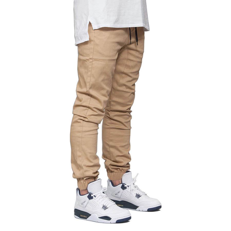 Casual Men Jogger Pants Fashion Stretch Runner Joggers Hip Hop Sweatpants E5010