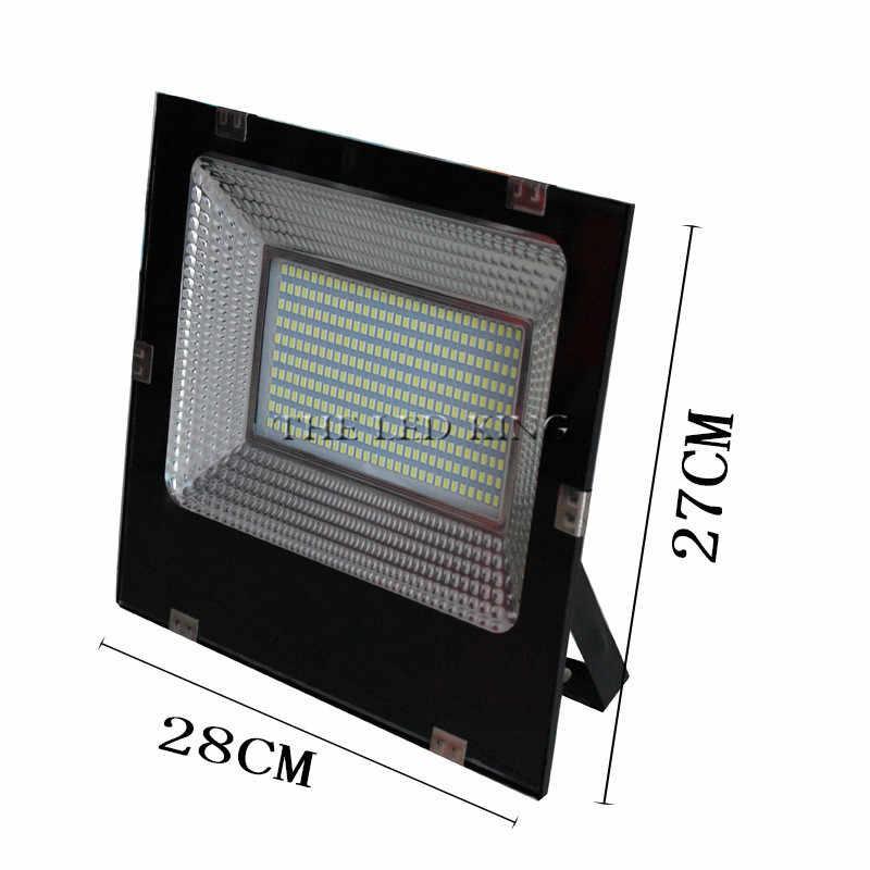 Reflector LED 220V 100W 300W 60W 80W Reflector LED de inundación impermeable IP66 foco iluminación exterior de pared blanco frío cálido