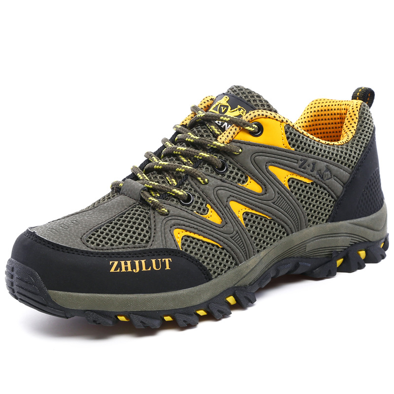 Outdoor Sports Camping shoes for Couple Mesh surface ...