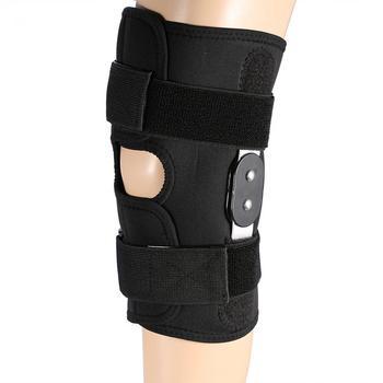 Adjustable Sports Training Elastic Knee Support Brace Patella Knee Pads Hole Kneepad Safety Arthritis Meniscus Tear Protection фото