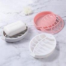 Милый кухонный стеллаж для хранения в форме рыбы двухэтажный дренаж для мыла блюдо губка полый резной дизайн коробка для хранения дальность кухни
