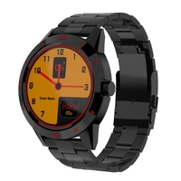 Haweel Smart Wristwatch With Heart Rate Monitor 1 3 TFT MTK2502C Stainless Steel Strap Bluetooth Smart