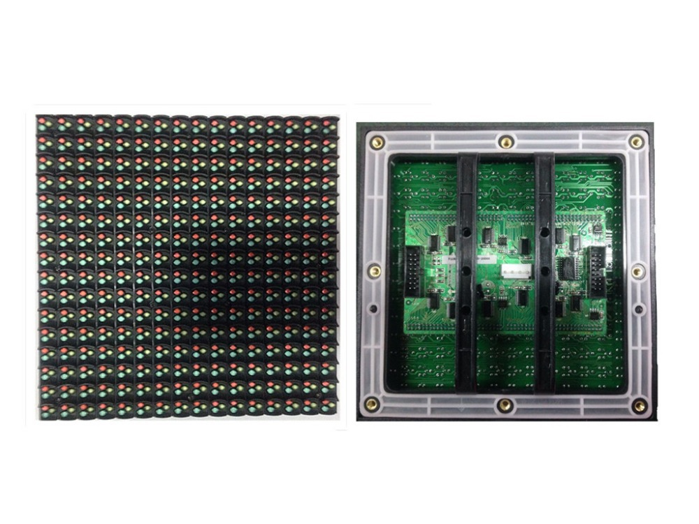 Factory Direct Sales P10 Outdoor 1/4scan /DIP Full Color /wafer Chips/ Reversed Polarity/ 160mm*160mm 16*16pixels 10000dots/m2