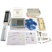 High Quality 1 Set Electric Door Lock Magnetic RFID Access Control ID Password Safty Entry System
