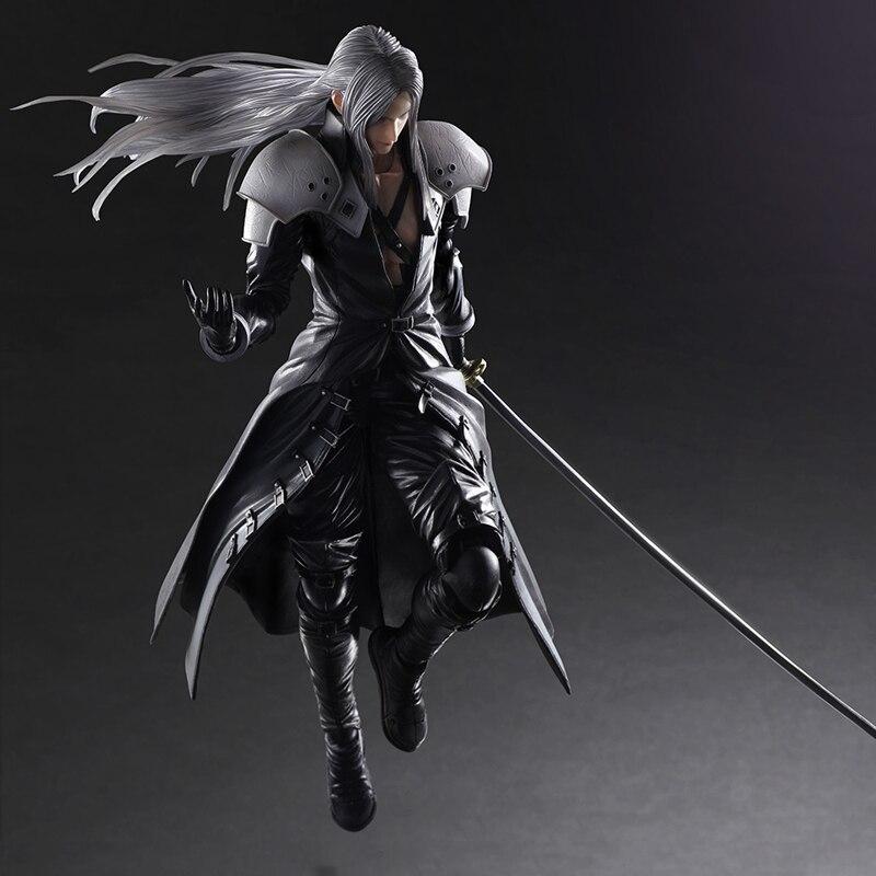 Final Fantasy Play Arts Pa Kai Vii Ff7 Sephiroth Hero Doll
