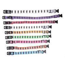 Pets Cat Dogs LED Collar Luminous Night Safety Flashing Leash Harness Supplies  #0315#