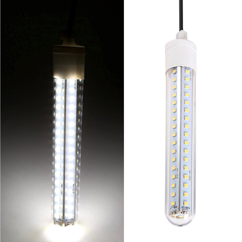 Image 3 - 12V 60LED Underwater Night Fishing Light 8W Bait Squid Fish Attracting Lamp White/Warm White-in Marine Hardware from Automobiles & Motorcycles