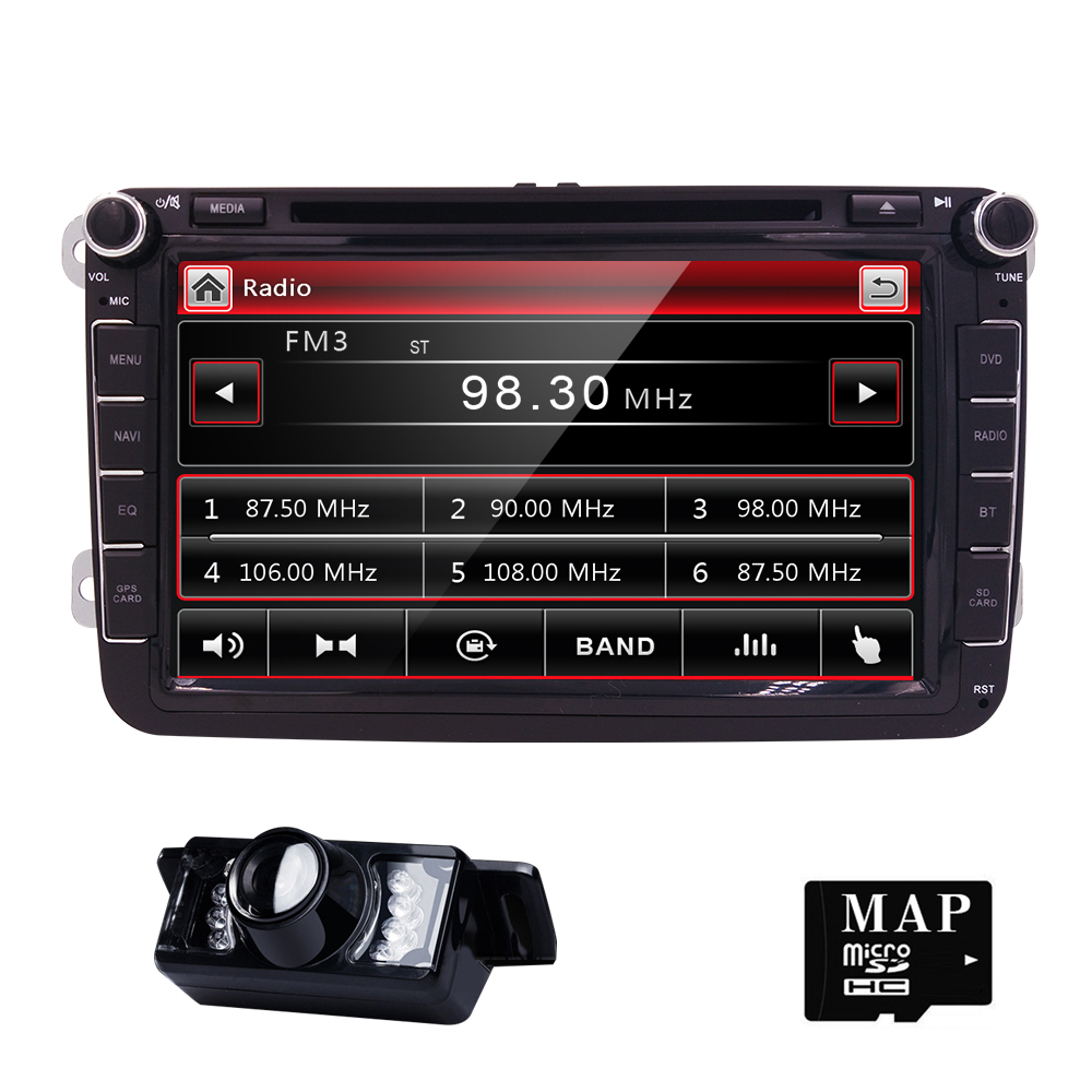 Free shipping readystock factory sell oem fit radio rns510 for vw passat jetta polo car dvd