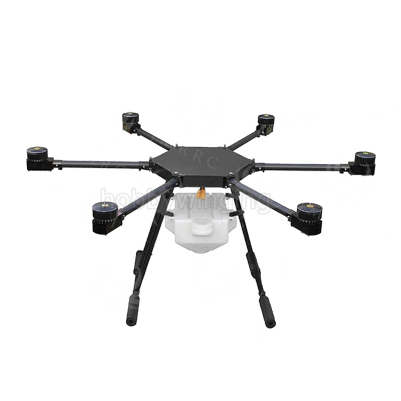 JMRRC 6-axis Spray pump Agriculture drone w/5KG/5L spraying system 1000mm Wheelbase 25mm arm Folding UAV Hexacopter pastoralism and agriculture pennar basin india