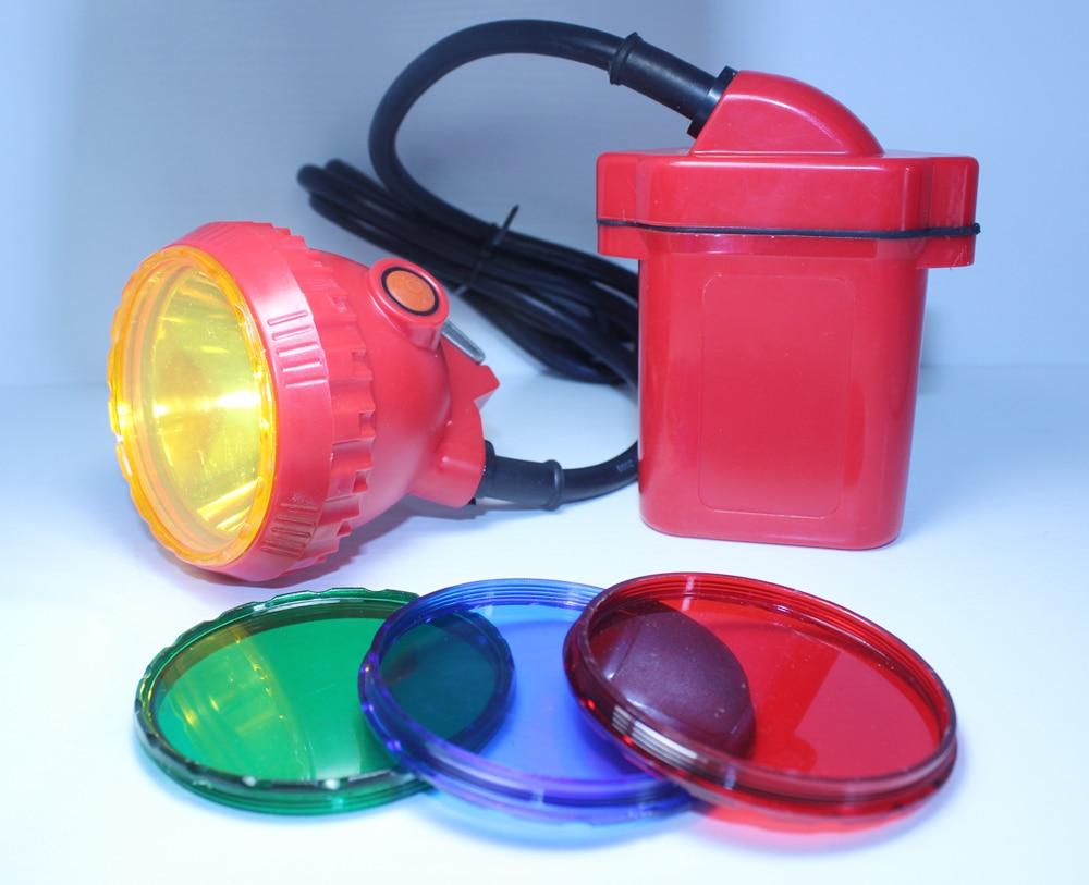 Hot Led de Crăciun Lumina Super Brighter Farul 6600MAH Li baterie pentru lumina de noapte în aer liber Free Ship de DHL Fedex