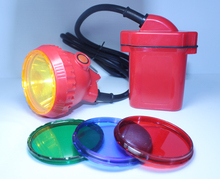 Hot Led Christmas Light Super Brighter Headlight 6600MAH Li Battery For Outdoor Night Light Free Ship By DHL Fedex