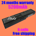 Batería del ordenador portátil para toshiba satellite a660 jigu c640 c650 c655 c660 l510 l630 l640 l650 u400 pa3817u-1brs pa3816u-1bas