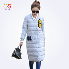 2016 Fashion women coats and jackets Slim Fit Ladies Long Coat with Badge Female Trench Coat Winter Outerwears