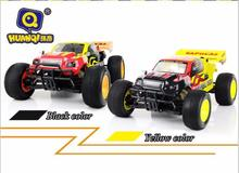 Boys rc hobby HQ-736 1:10 Scale large rc racing car 2.4G rc toy  with 540ph motor 4WD Electric Powered High Speed 40kg/h RC Car