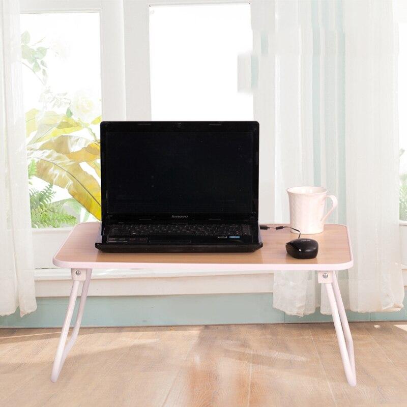 Студенческое общежитие прикроватные тумбочки, стол ноутбук утолщение сбоку гагара складной стол легко носить с собой стол