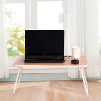 Student Dorm Bedside Laptop Table Thickening Side Loon Folding Table Easy To Carry Desk