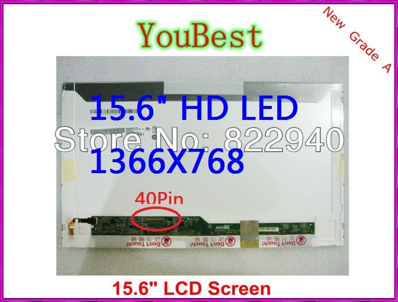 15.6 WXGA HD Laptop LED LCD Screen For ACER EMACHINES E525 E625 E725 Dalle Ecran Display(Not CCFL)