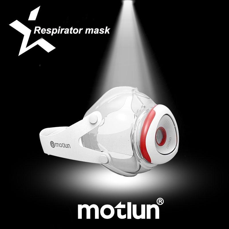 The New 2020 Respirator Gas Mask Anti-fog Haze Pm2.5 Respirator Mask 1 Set Of 13 Filter Cotton Anti - Dust Respirator